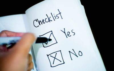 Checklist for Online Classes